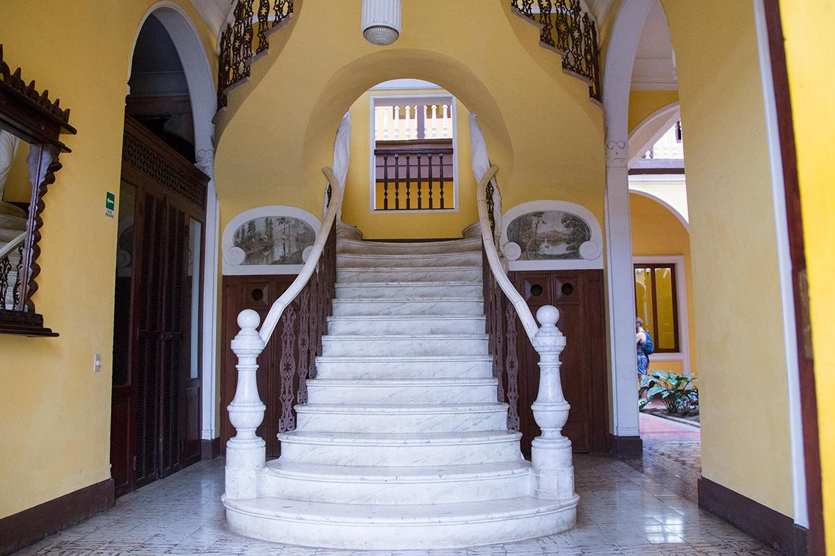 Case de Mario Favilli, as it's known, is officially recognized as a historical landmark as a stunning example of Spanish colonial architecture in a city replete with buildings of that school.