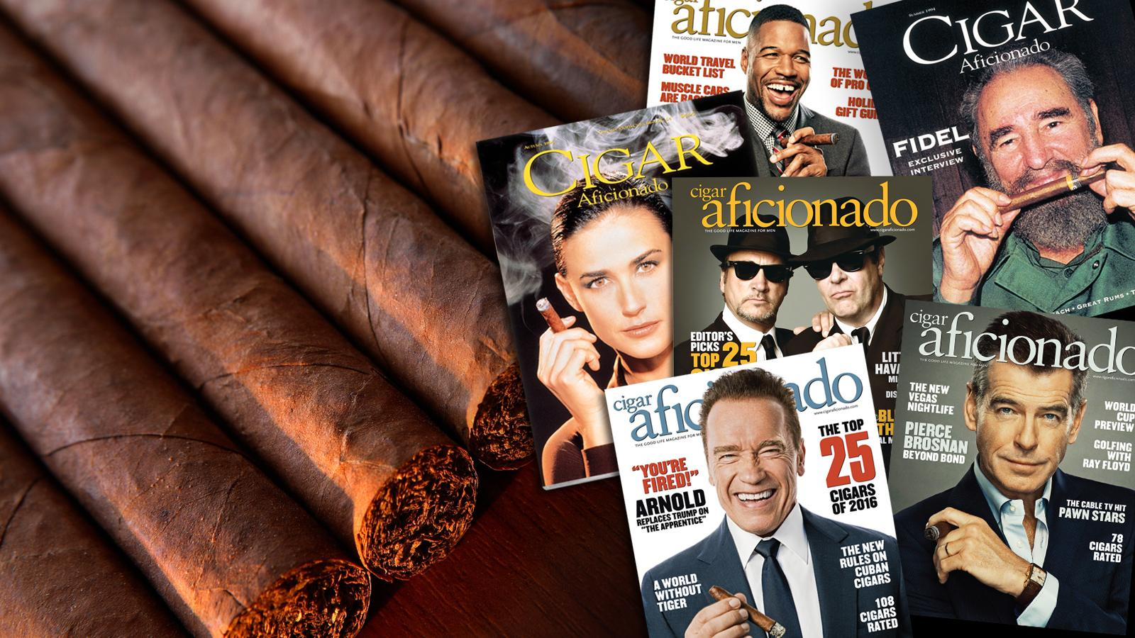 Cigar Aficionado Cover Contest Enters The Sweet 16