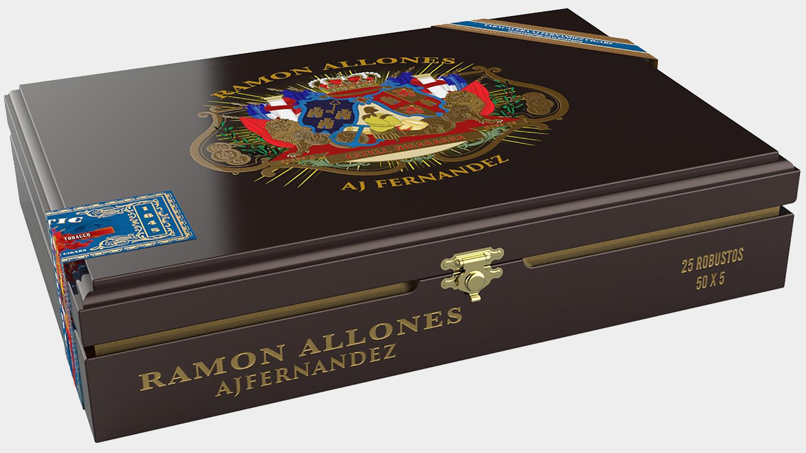 The Ramon Allones cigars are made at the Tabacalera A.J. Fernandez Cigars de Nicaragua factory.