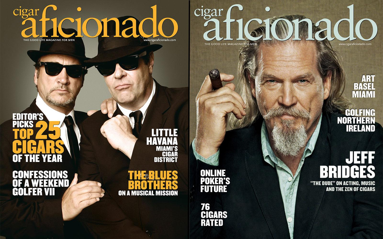 Round 2 pits The Blues Brothers (February 2008) against Jeff Bridges (August 2013) in a battle of the über-cool.