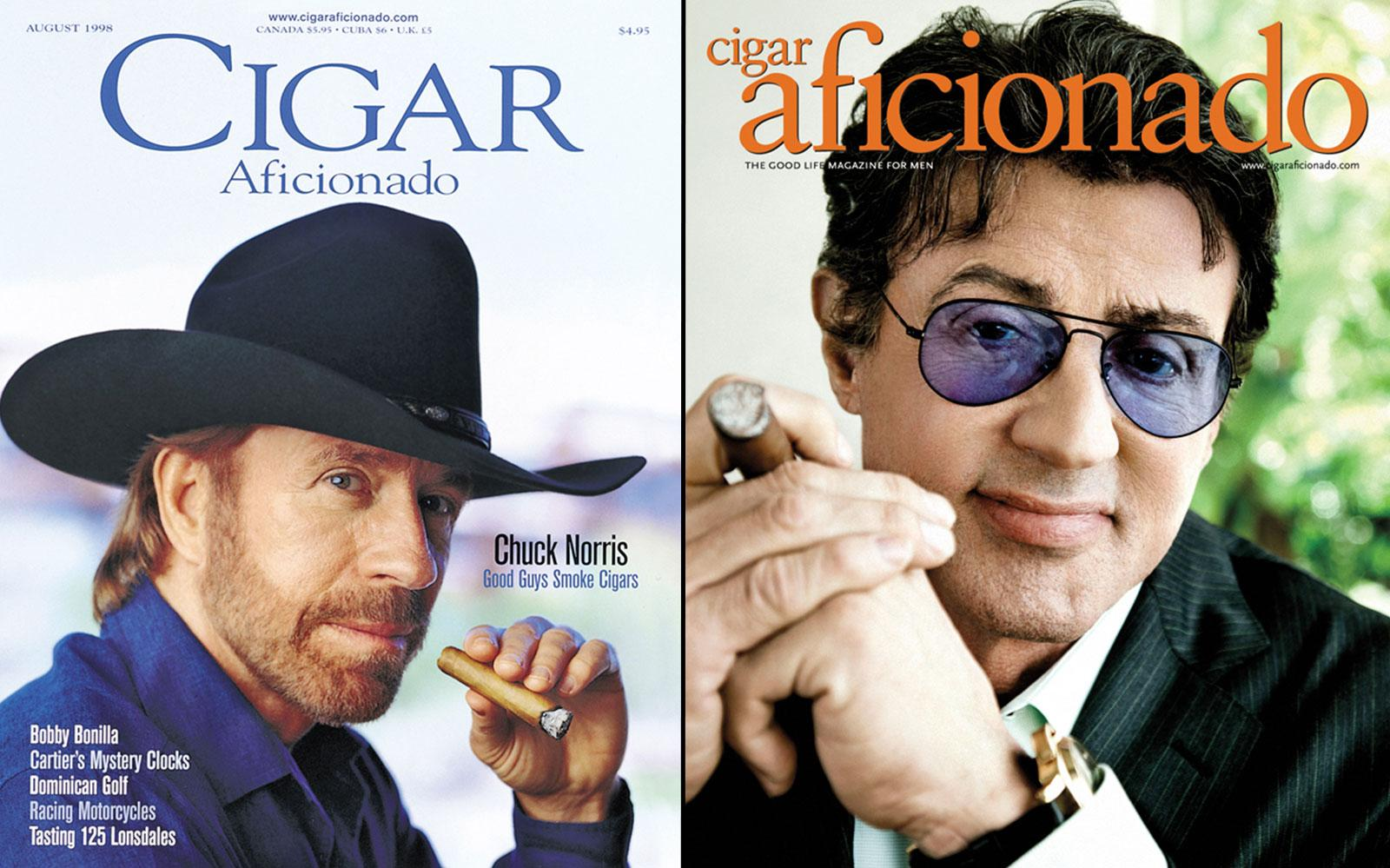 Chuck Norris (August 1998) and Sylvester Stallone (August 2010) will go head-to-head in Round 2.