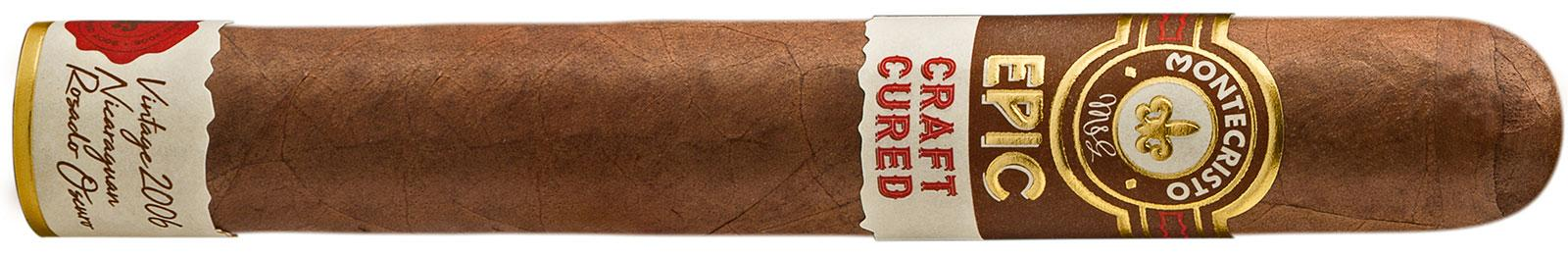 Craft Cured's aged wrapper is denoted on the cigar's footband.