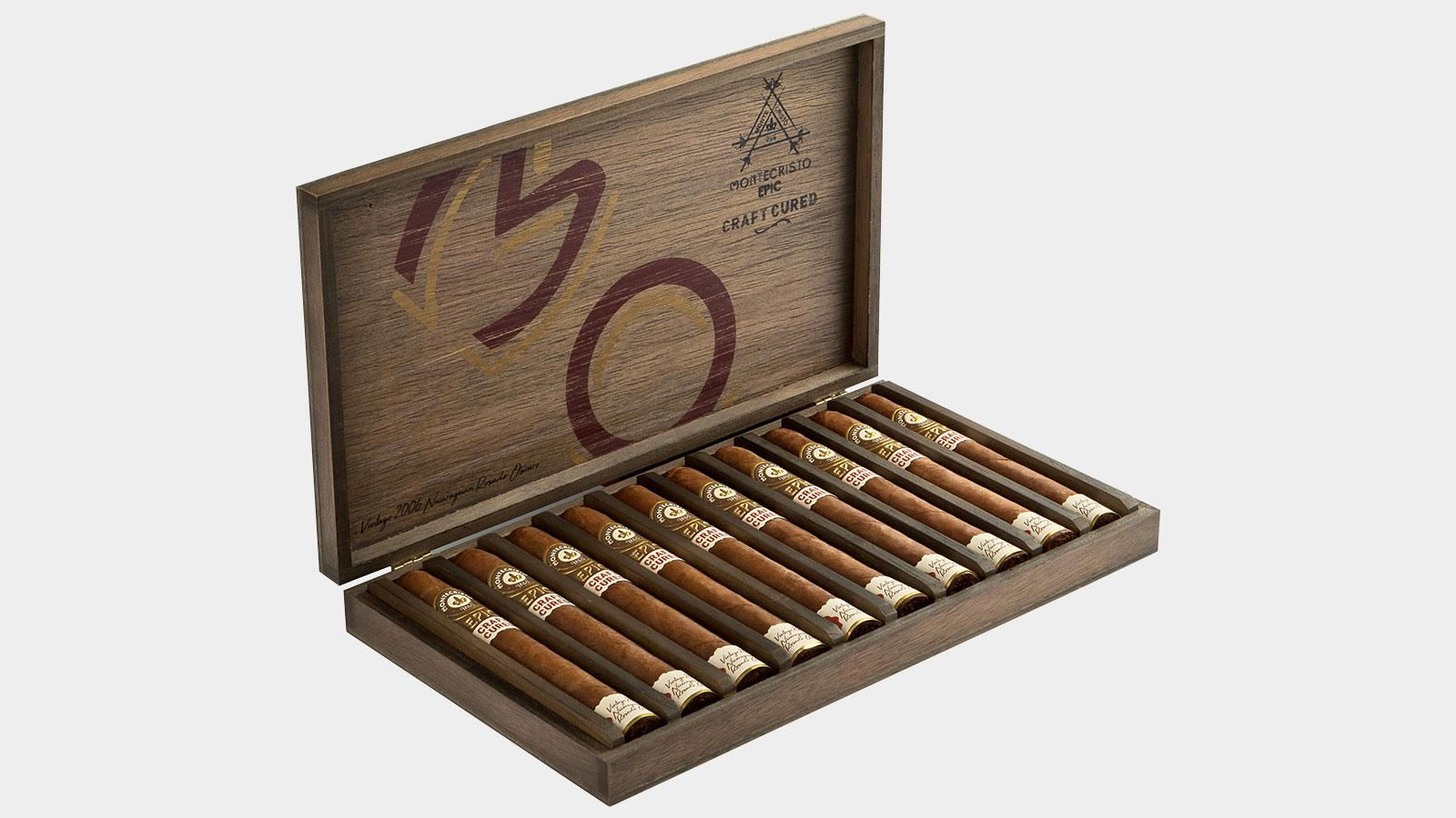 New Montecristo Craft Cured Wears 11-Year-Old Wrapper