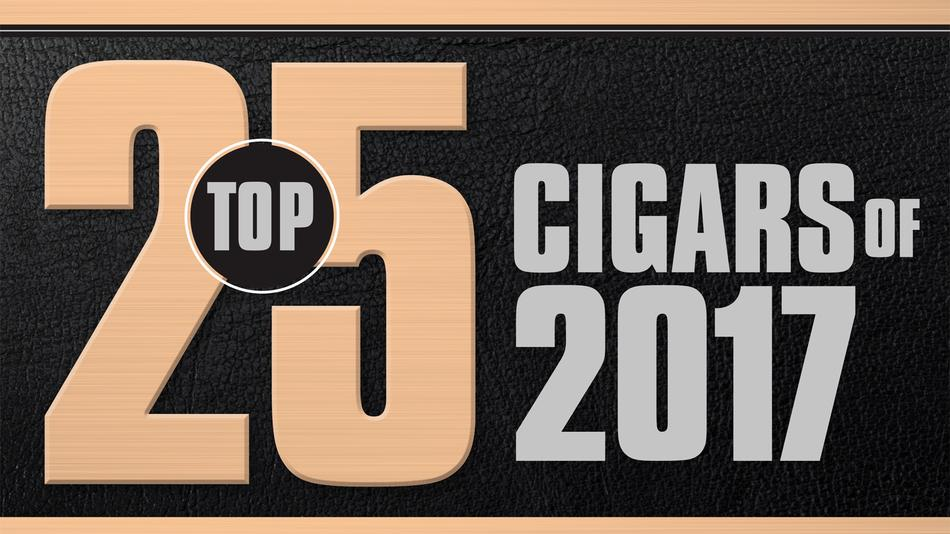 Cigar Aficionado's Top 25 Cigars Of 2017