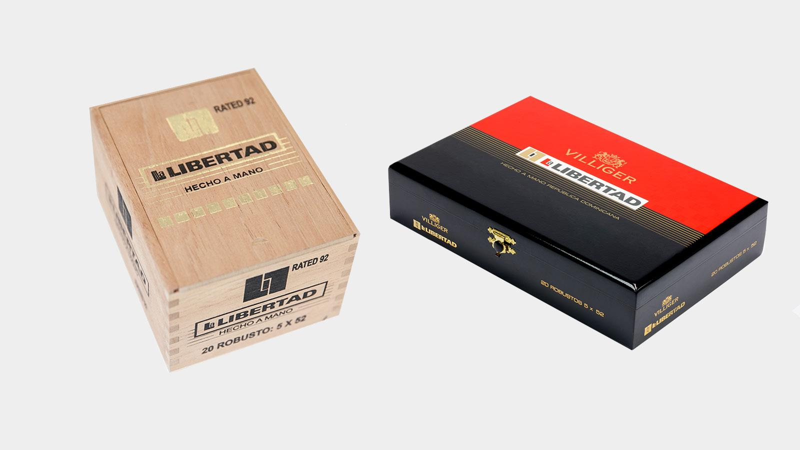 Villiger Modifies Packaging Of Two Cigar Brands
