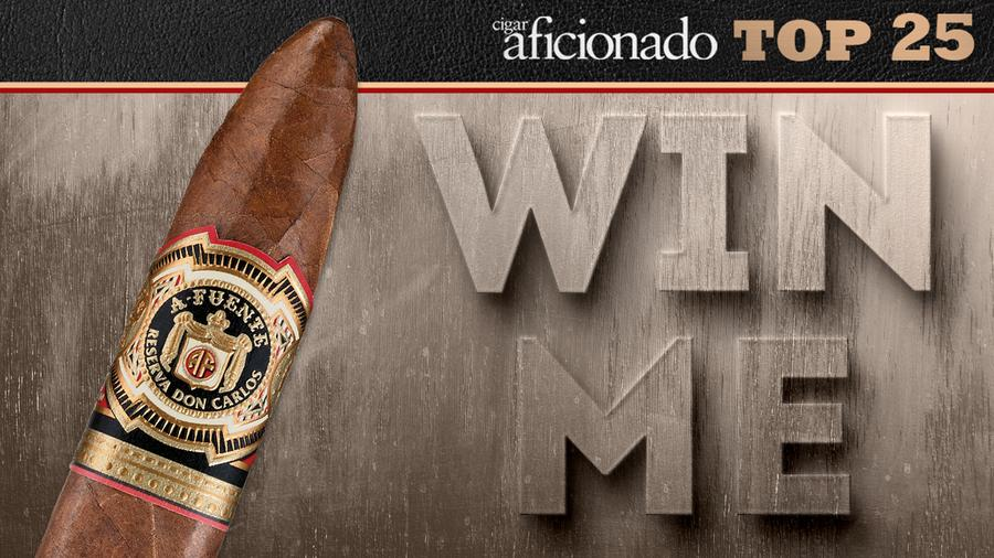 Enter To Win A Box Of The 2017 Cigar of the Year