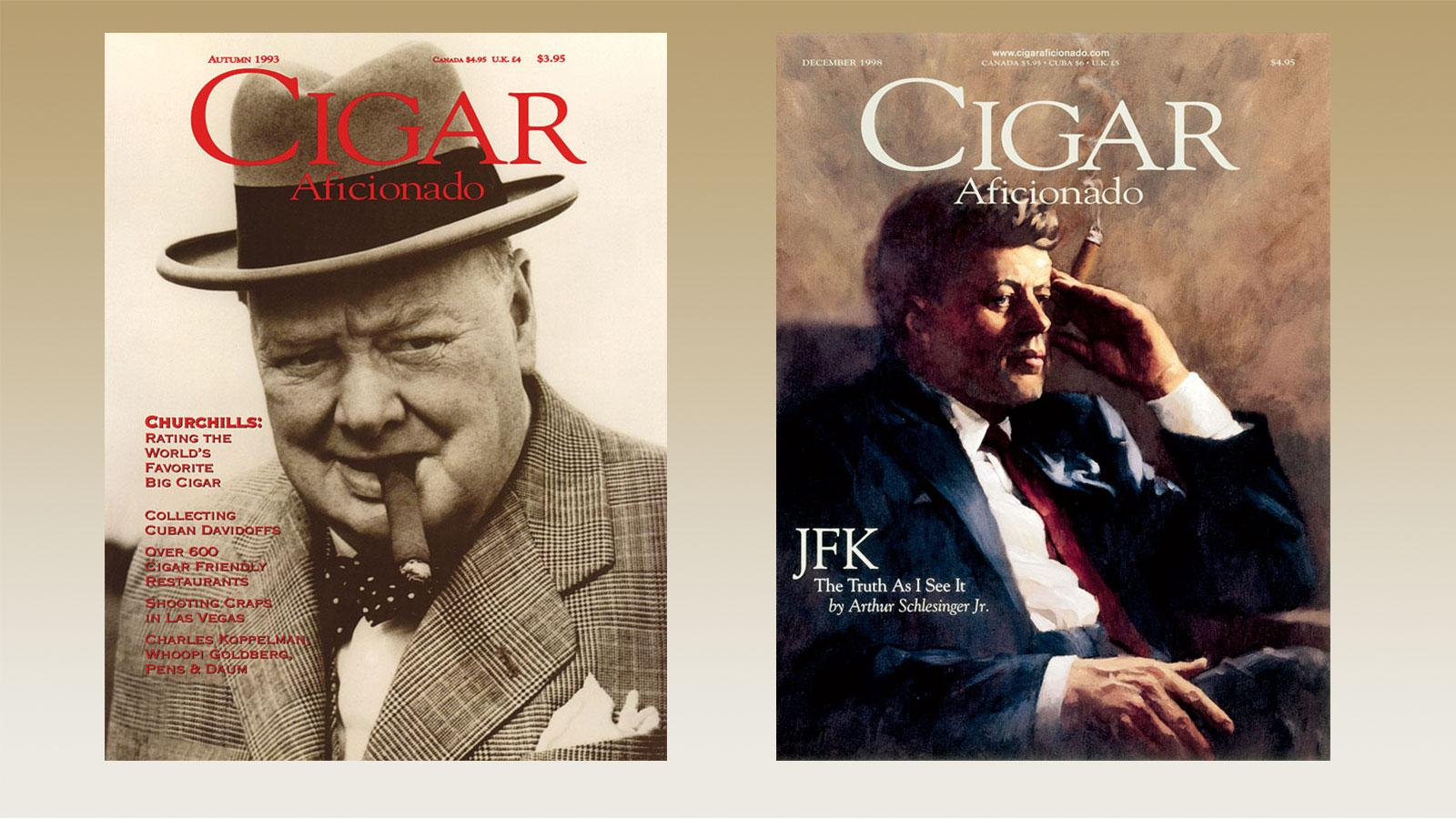 Cover Challenge: Churchill Vs. JFK