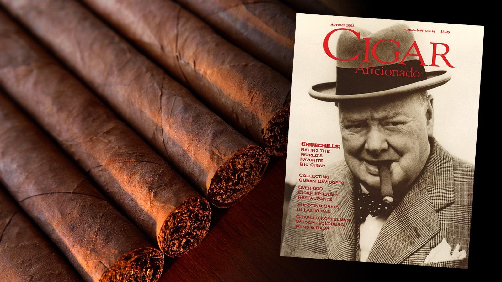 Cigar Aficionado's Cover Challenge—Victory For Churchill