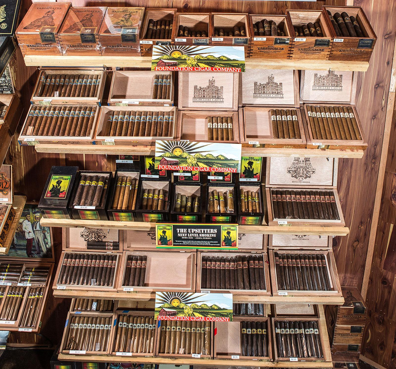 Ligero Tobacco House carries the entire portfolio of Foundation cigars.