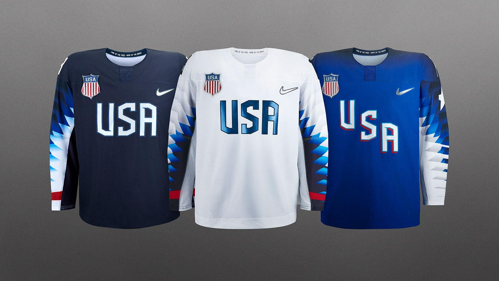 Team USA Hockey Jerseys