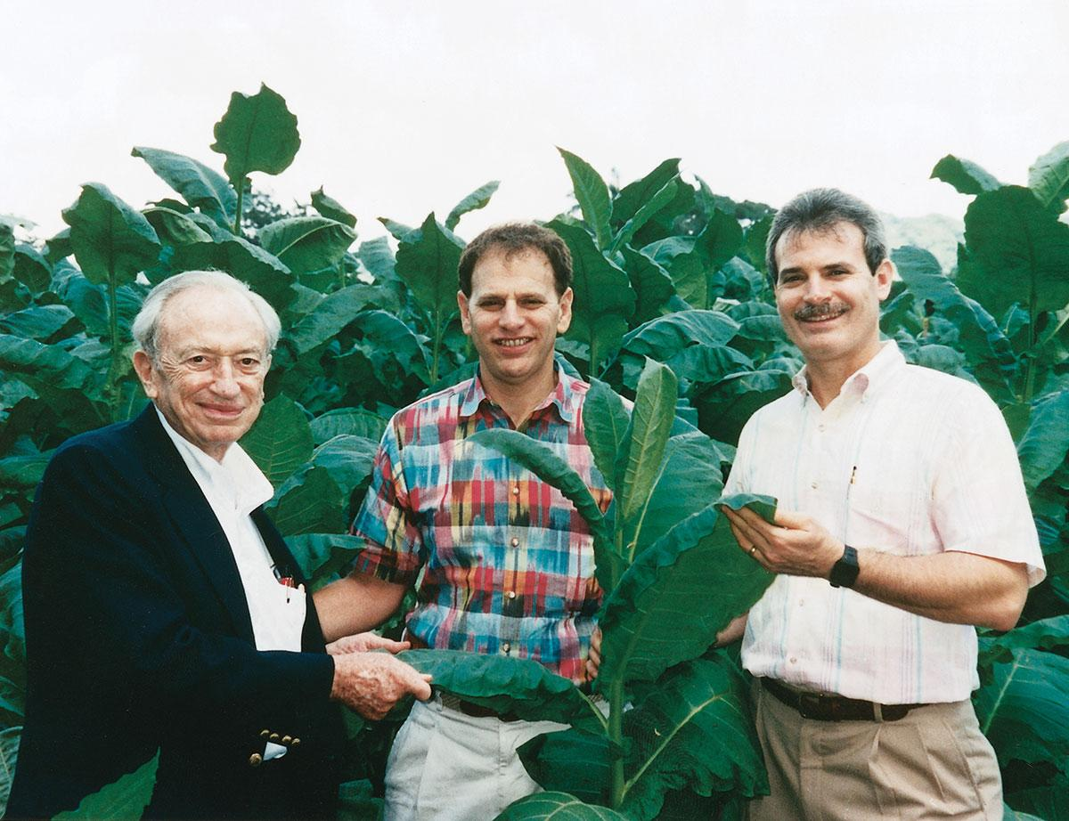 The Newman family, circa 1994. From left, Stanford, Eric and Bobby.
