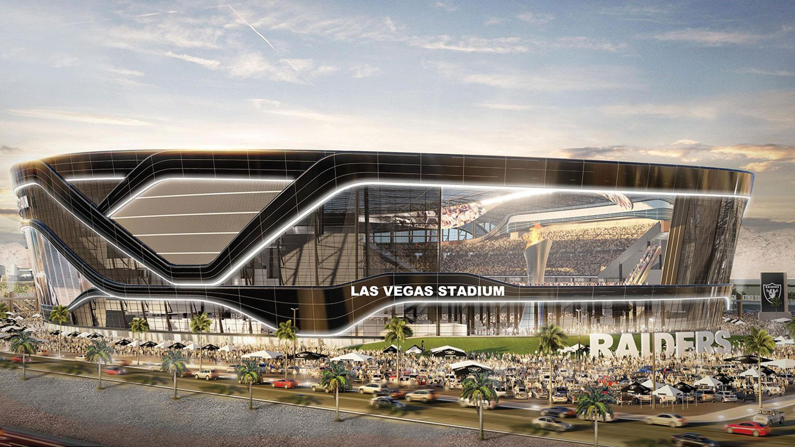 Details are scant for Las Vegas Stadium, soon to be the Raiders' home, but expect a glass dome roof.