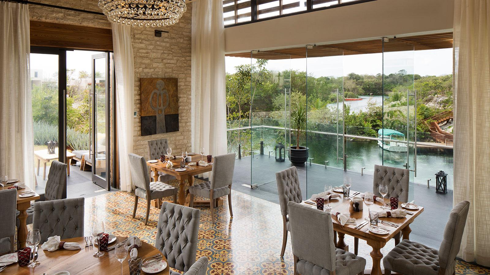The restaurant won a prestigious interior design award as the best in all of Latin America and the Caribbean.