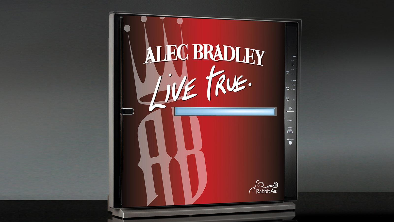 Alec Bradley Gets A Rabbit Air Purifier