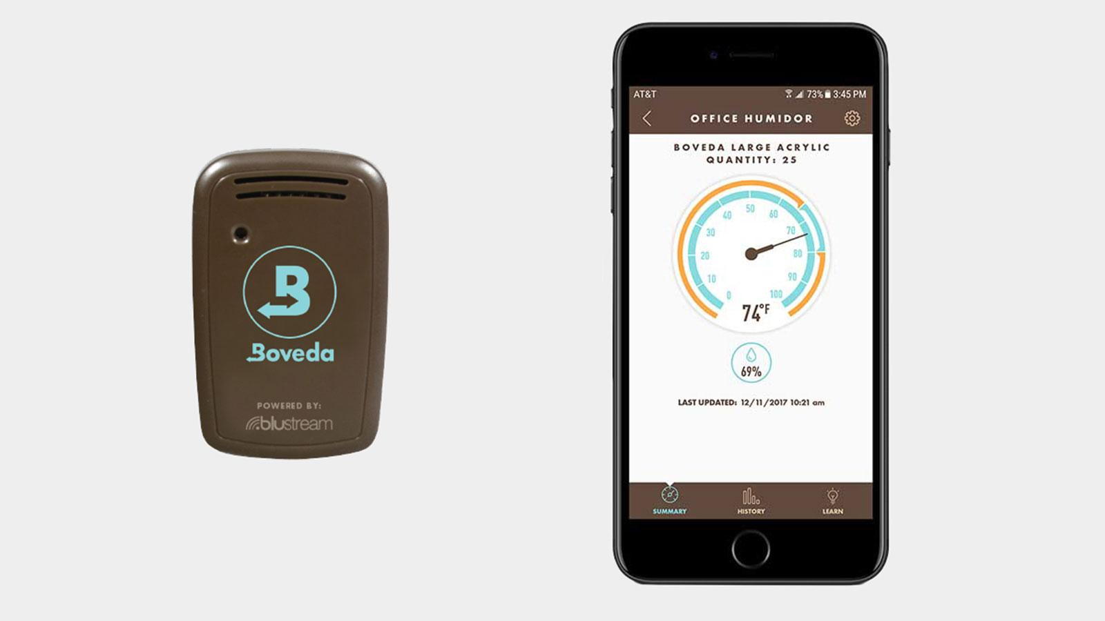 Boveda Brings Smart Sensor Device To Humidors