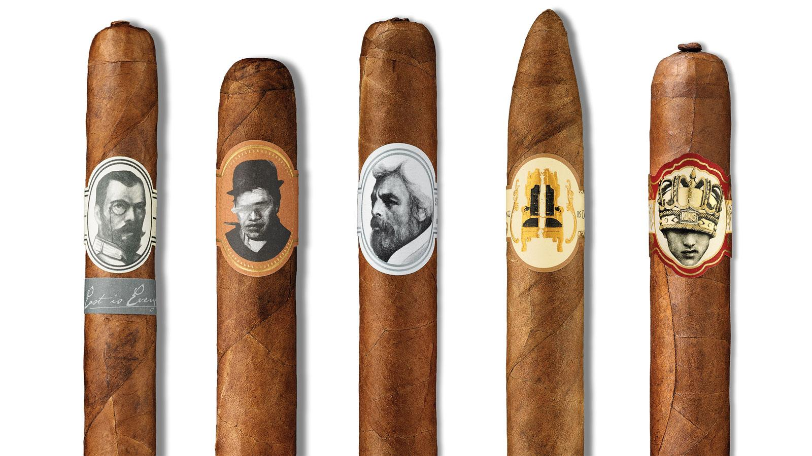 Caldwell Cigar Co.'s portfolio includes brands like The Last Tsar, Blind Man's Bluff, Eastern Standard, The King Is Dead and Long Live The King.