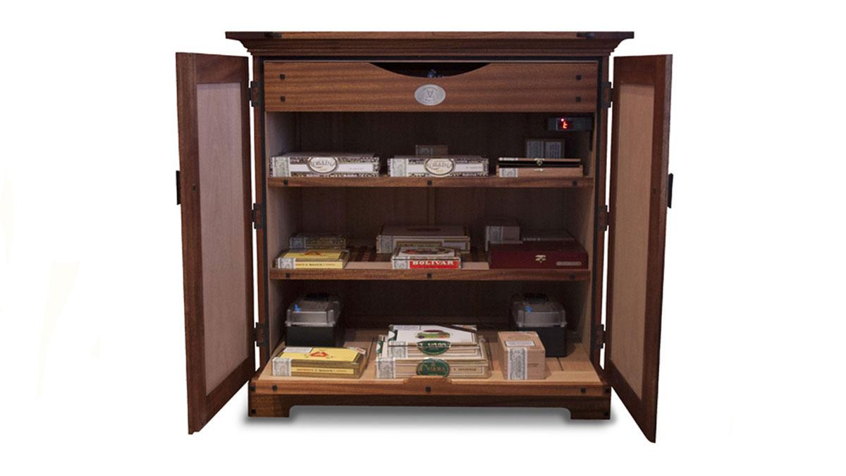Cabinet Humidor by Vanderburgh & Co.