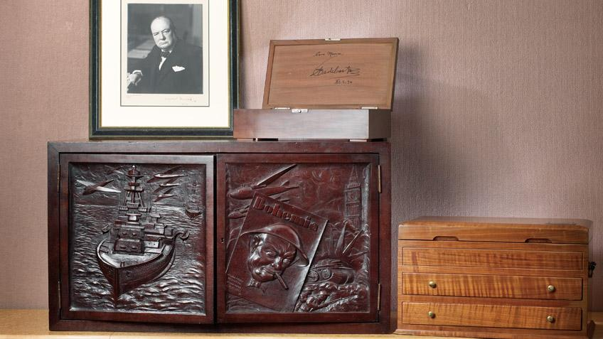 Video: Marvin R. Shanken Displays Historic Humidors