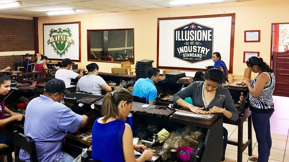 A Cigar, A Dog—A Day at a Nicaraguan Cigar Factory