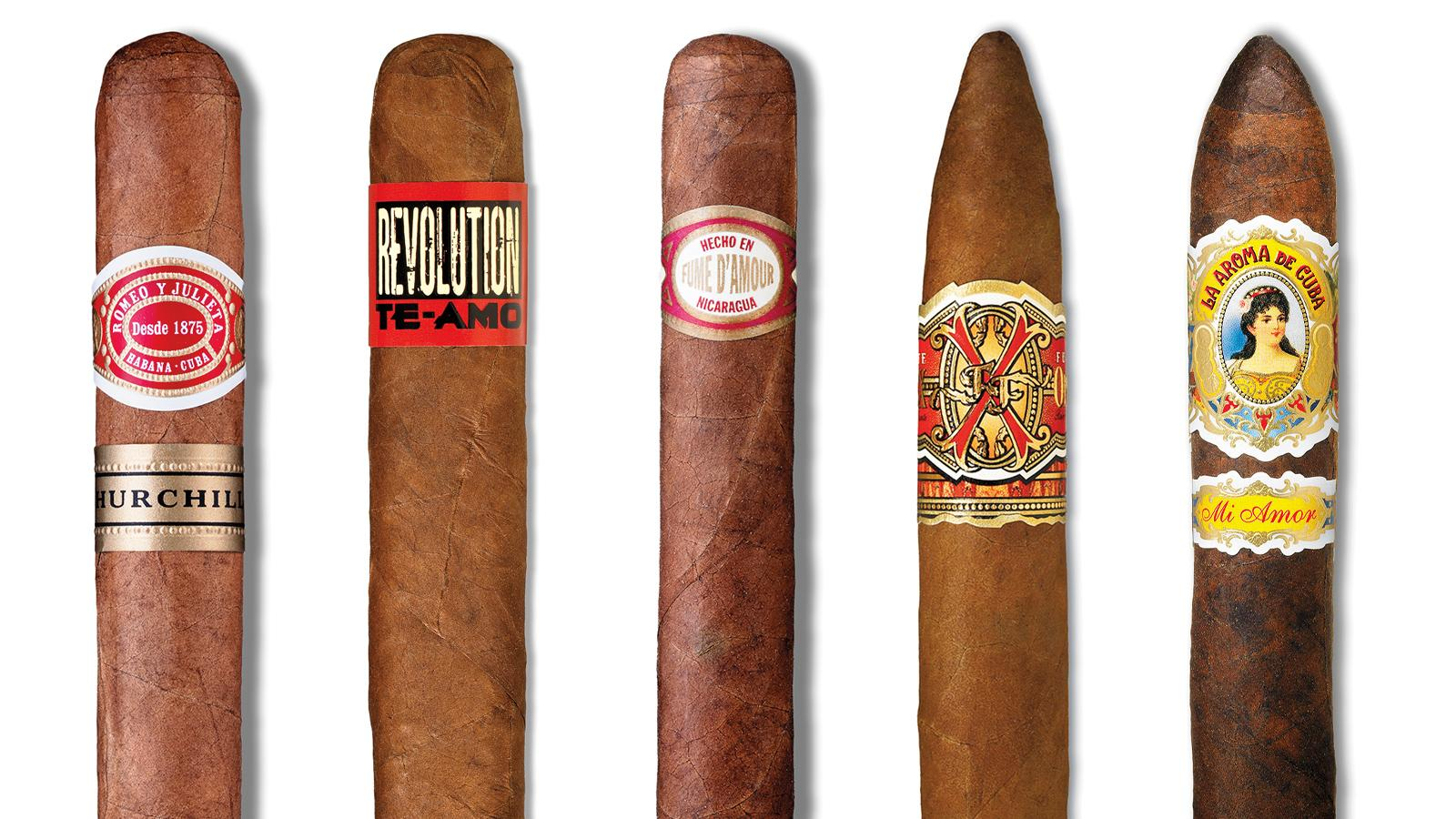 Five Great Cigars for Valentine's Day