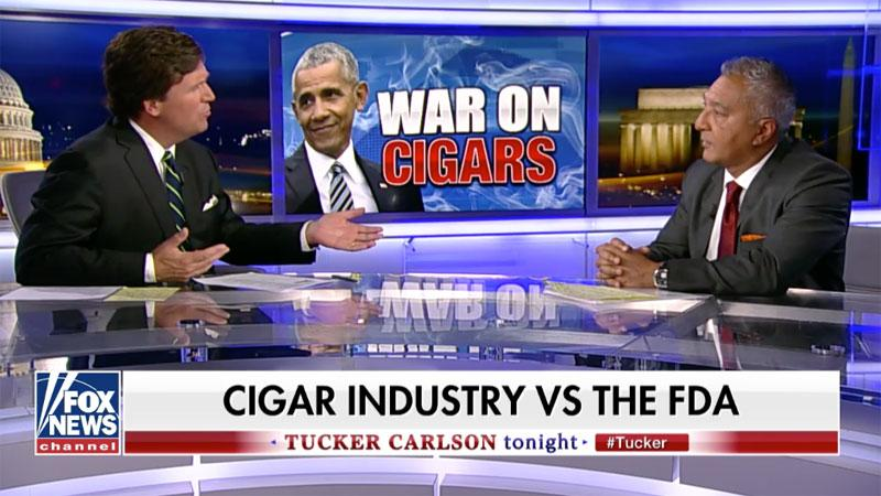 Rocky Patel Defends Cigars on Fox News