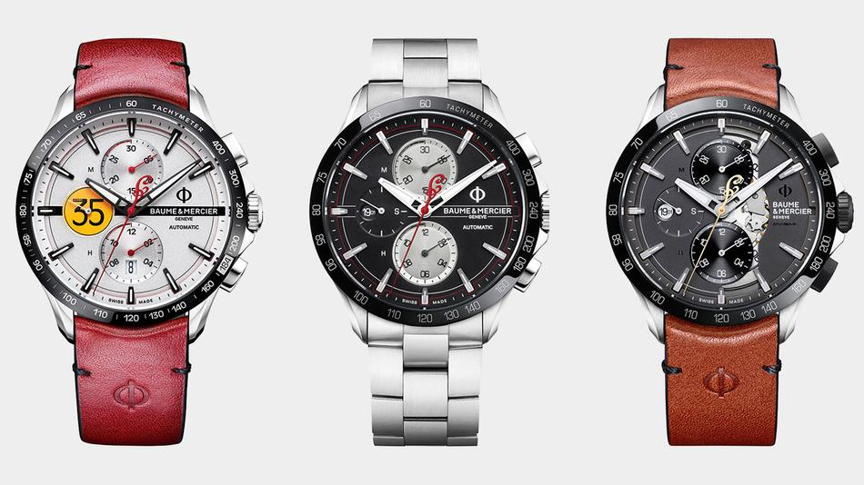 Limited Baume & Mercier Watches Pay Tribute to Indian Motorcycles