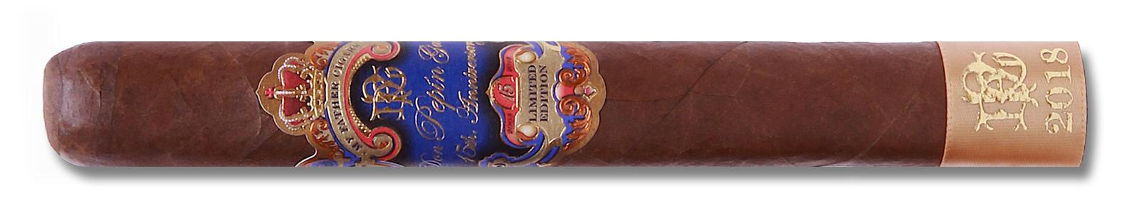 The cigar wears a Habano-seed wrapper grown in Nicaragua that the Garcia's describe as rosado oscuro.