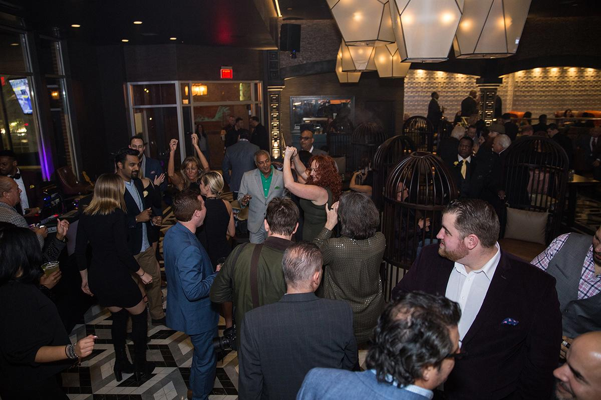 The grand opening of Burn attracted about 300 of Pittsburgh's most stylish and distinguished cigar lovers.