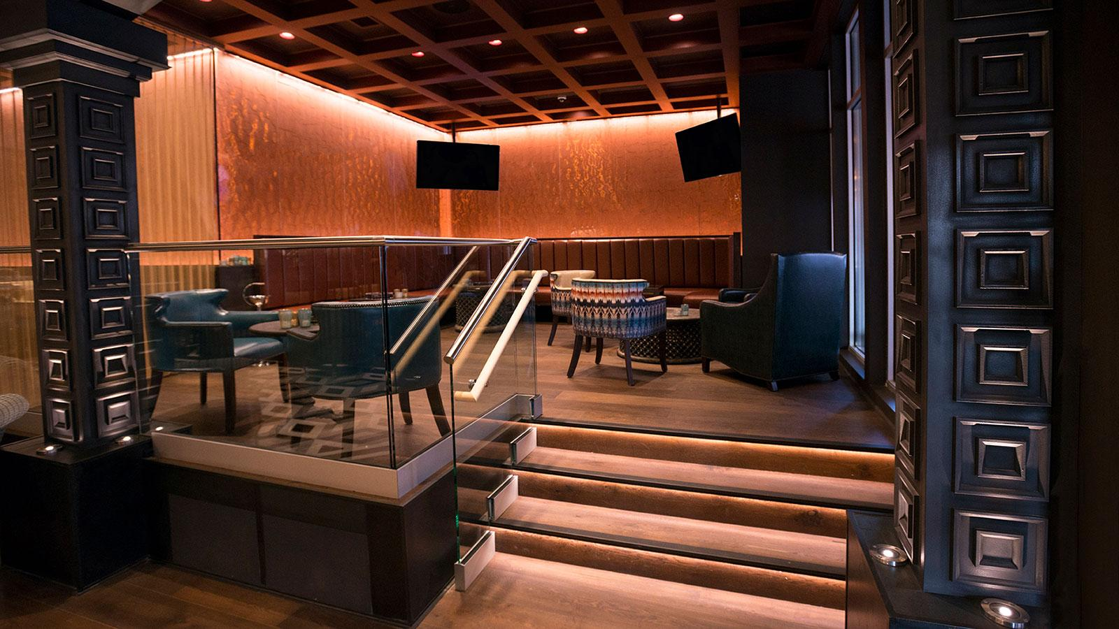 Patel's new Pittsburgh venue can best be described as an upscale, cigar-friendly lounge with the feel of a nightclub.