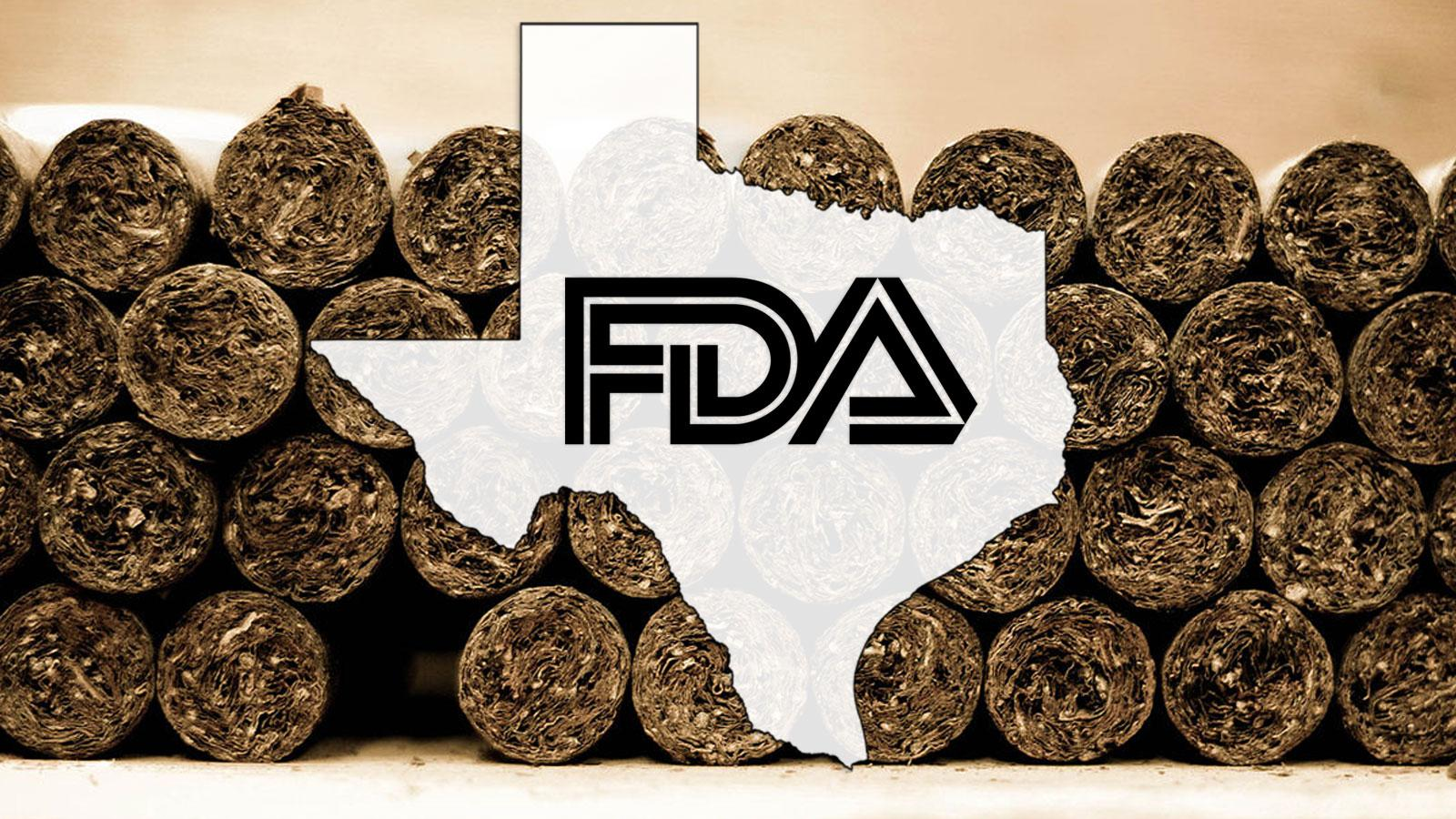 Texas Cigar Industry Files For Relief From FDA Warning Requirements
