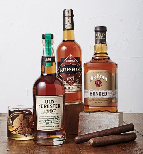 Bond. Bottled In Bond.