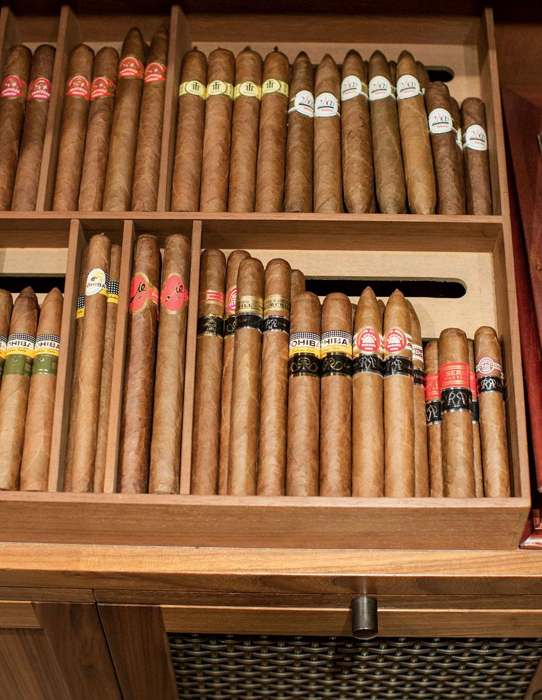 The Lanesborough Garden Room provides prize Cuban cigars with expert advice.