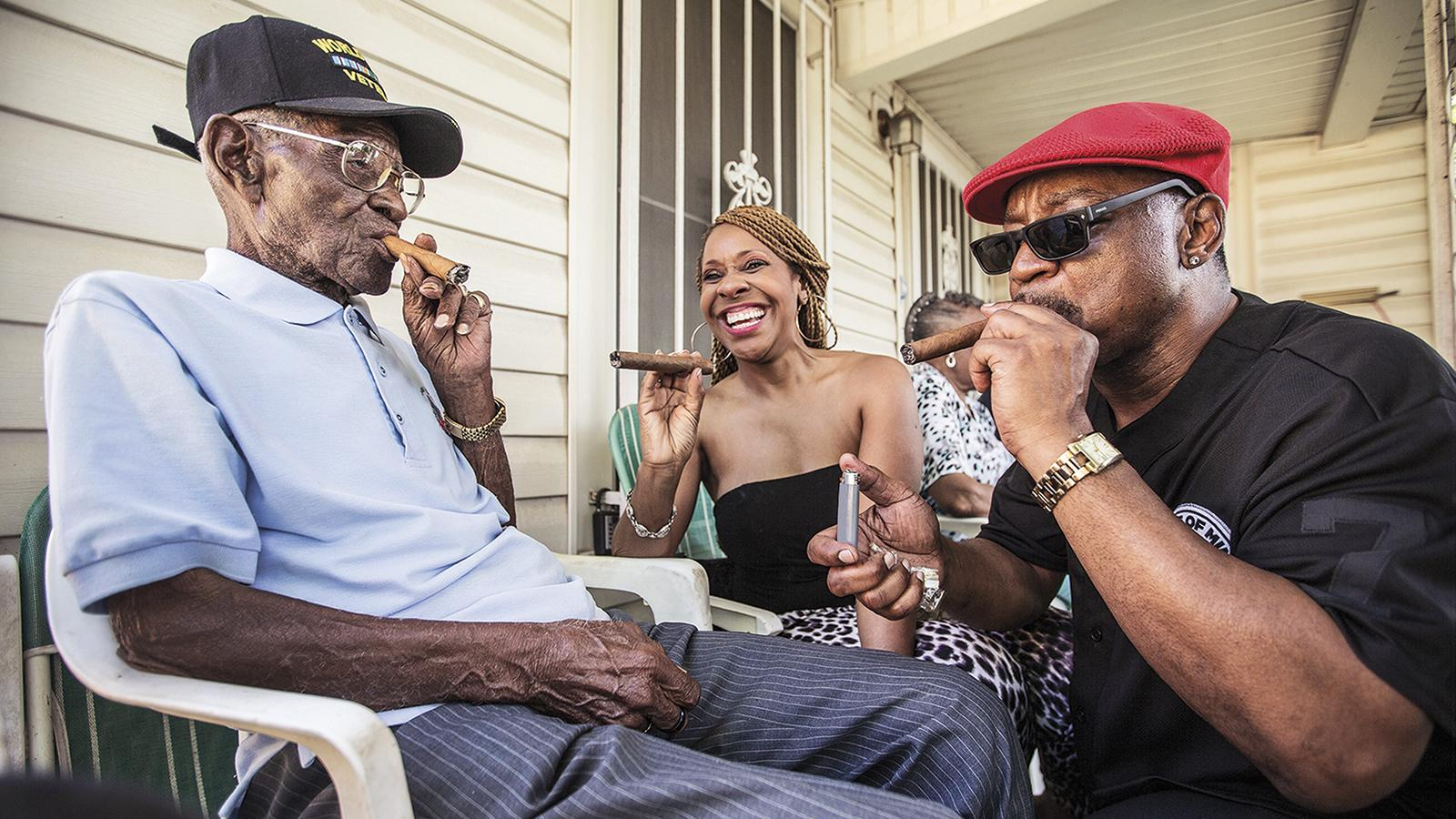 America's Oldest Man, Age 112, Smokes A Dozen Cigars A Day