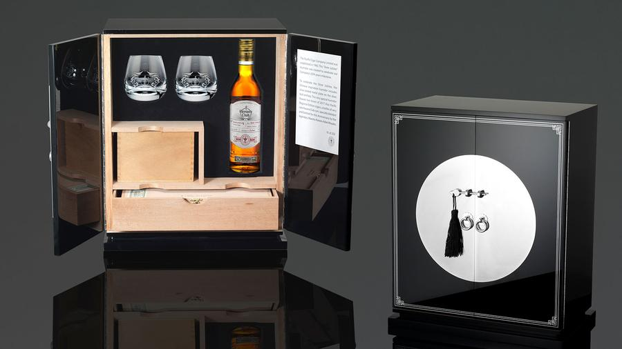 Pacific Cigar Co. Celebrates 25th Anniversary With Silver Jubilee Cabinet Humidor