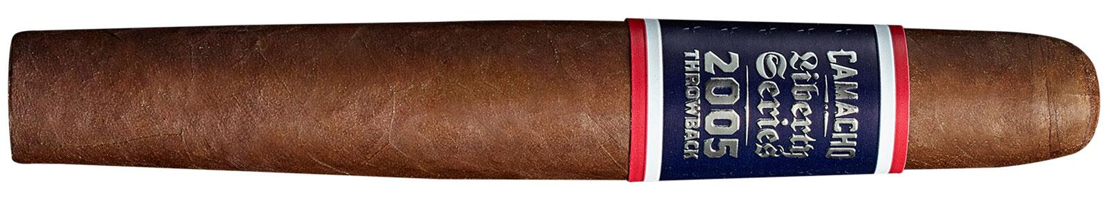 Camacho Liberty 2005 Throwback is a double-tapered figurado called 11/18.