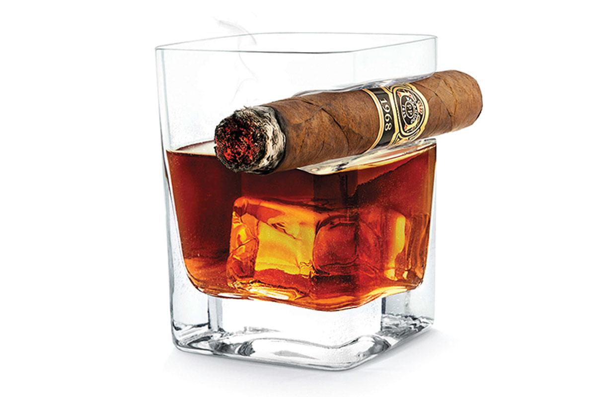The Cigar Glass—Corksicle