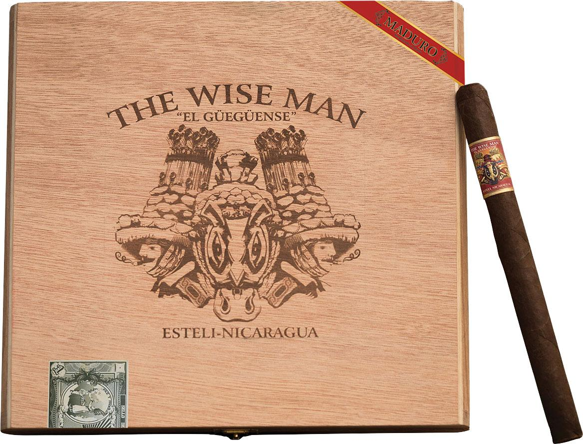 The Wise Man Maduro lancero comes in 13-count boxes.