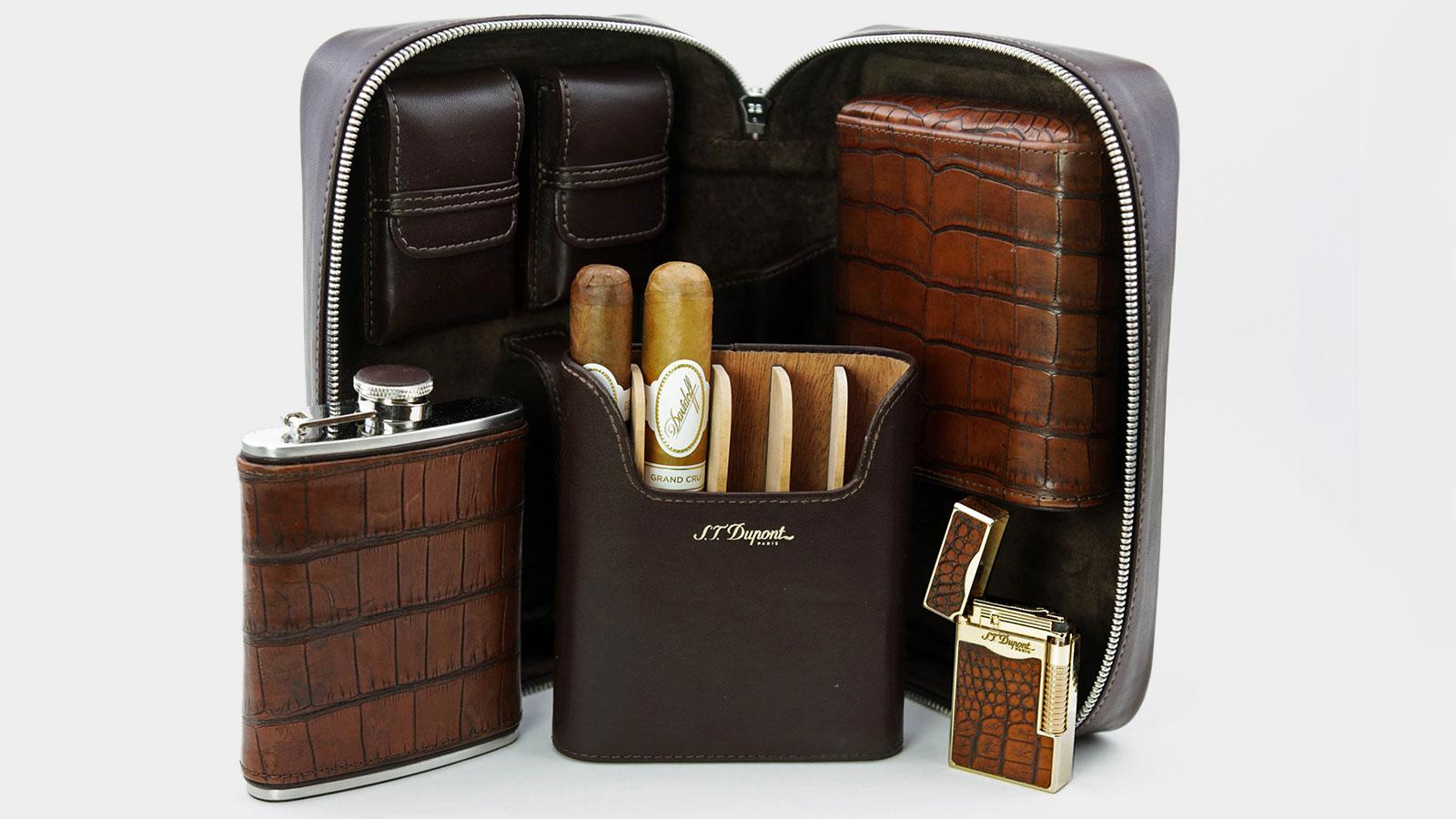 Brizard Partners with S.T. Dupont, Elie Bleu, Padrón and Rocky Patel for New Accessories Collections
