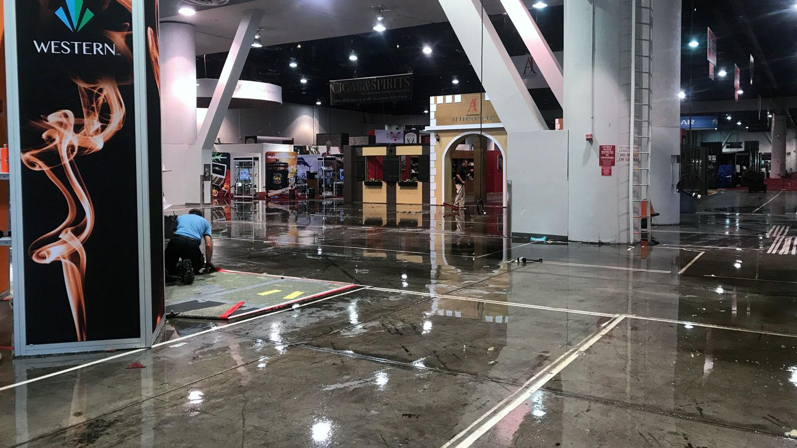 Fire Delays Day Two Of IPCPR Trade Show