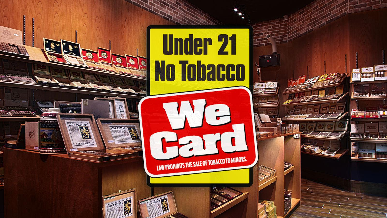 Bill Seeks To Raise Federal Minimum Tobacco-Purchase Age to 21