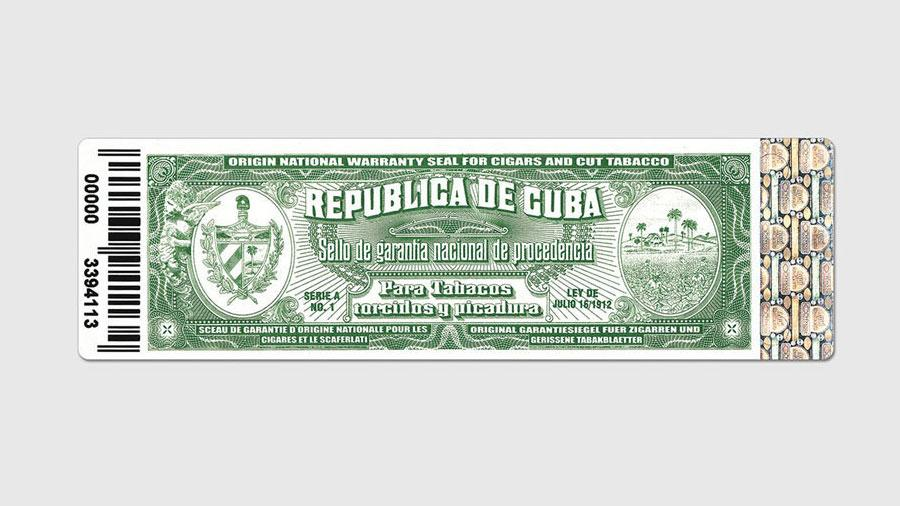 New Security Seals for Cuban Cigars
