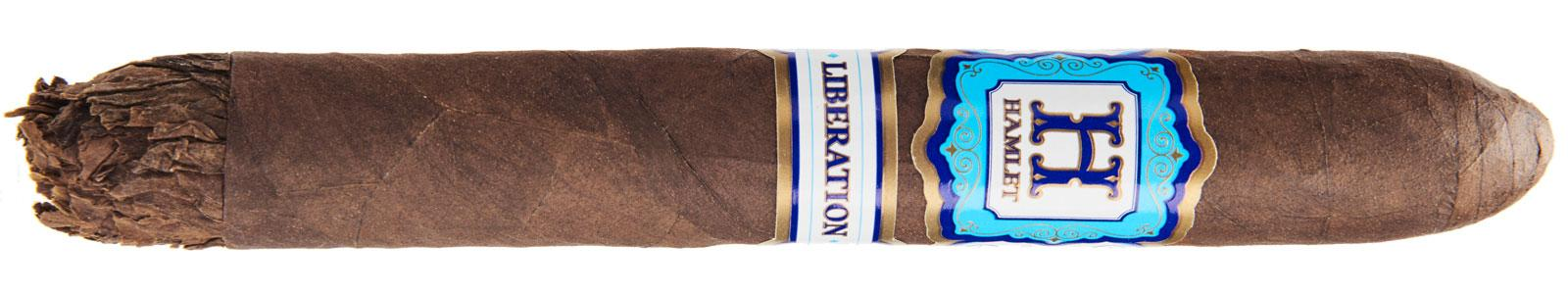 Hamlet Paredes's third cigar with Rocky Patel features a pronounced shaggy foot.