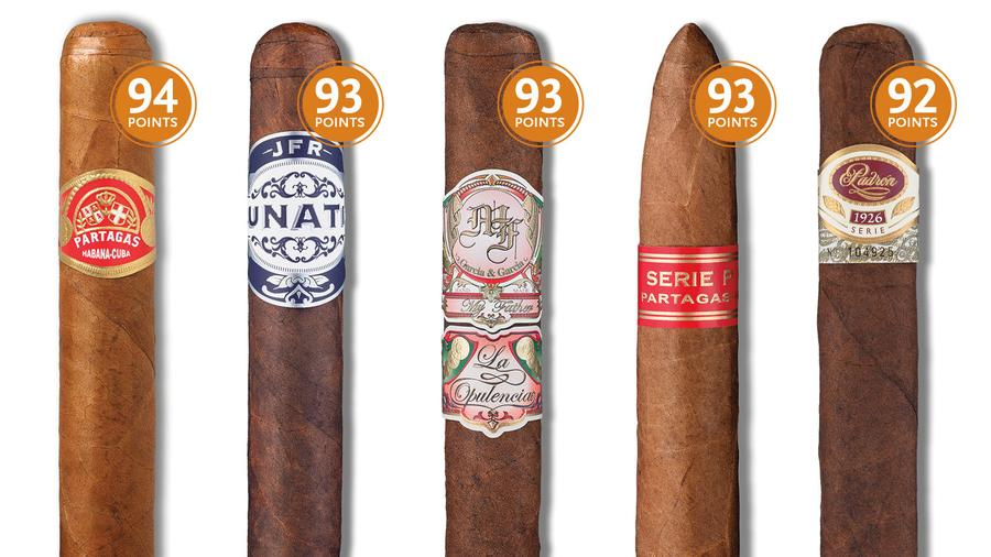 18 High-Scoring Cigars To Buy (And Smoke) Now