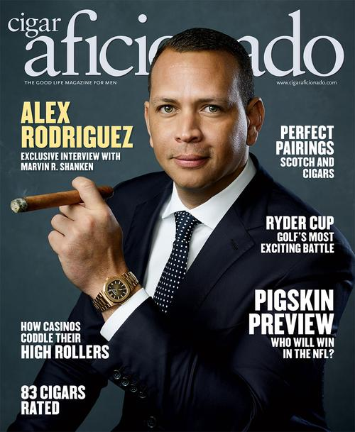 Alex Rodriguez | September/October 2018