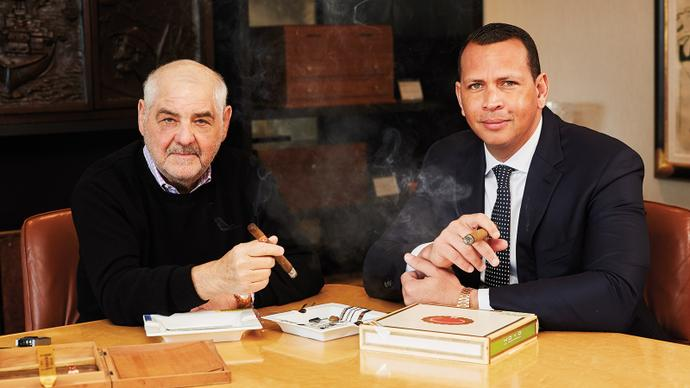 October's Cigar Aficionado, Featuring Alex Rodriguez