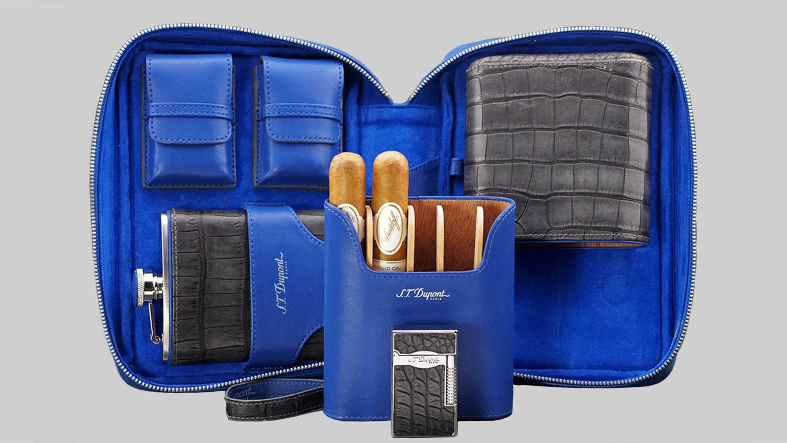 New Cigar Cases from S.T. Dupont, Padrón, Rocky Patel Available Now