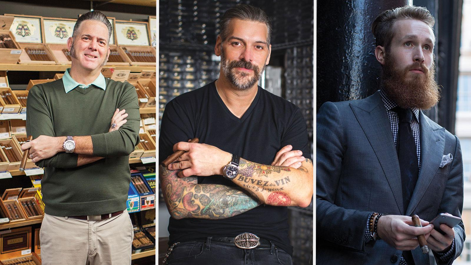 The Cult Cigars seminar will feature Dion Giolito of Illusione, Pete Johnson of Tatuaje and Kyle Gellis of Warped Cigars.