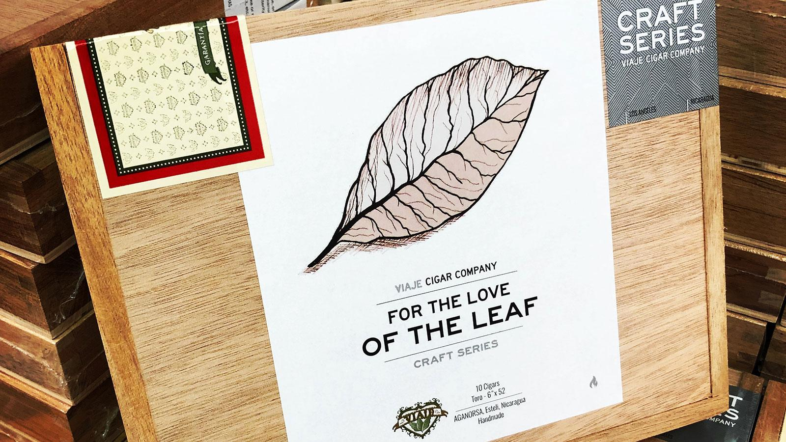 Viaje Releases Second In Craft Series: For The Love Of The Leaf