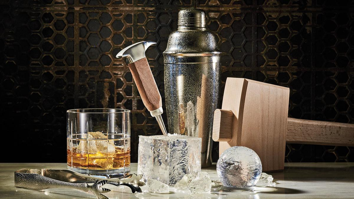 Drinks: The Ice Cube Cometh