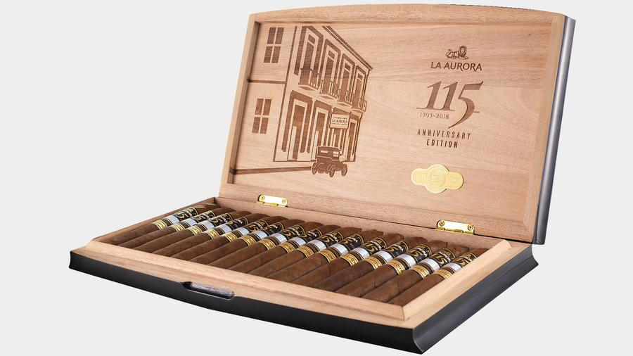 La Aurora Celebrates 115 Years With Commemorative Cigar